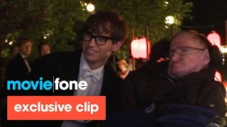 Download 'The Theory of Everything' | Stephen Hawking Visits the Set Video