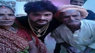 Download मां-बाबू जी के साथ खेसारी ने मनाया छठ | Khesari celebrated chhath with parents Video