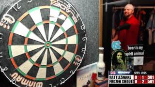 Download Rattlesnake vs Frozen Shoulder -WDA Darts Video