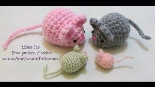 Download Crochet Along Amigurumi Mouse Video