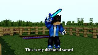 Download ♫ ″DIAMOND SWORD″ - MINECRAFT PARODY OF DEMONS ♫ [REMASTERED] Video