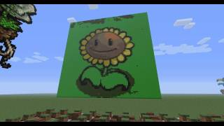 Download Plants Vs Zombies on Minecraft Note Blocks (Roof theme) Video