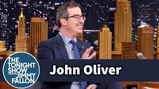 Download John Oliver Got Bounced from a Sauna and Tickled by the Dalai Lama Video