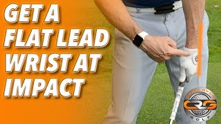 Download HOW TO GET A FLAT LEAD WRIST AT IMPACT Video