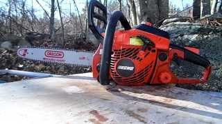 Download Echo CS 400 Chainsaw Review Video