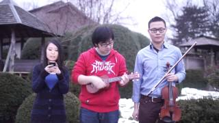 Download 小手拉大手(风になる)Ukulele cover by: Sai & Hanjing ft.云炮 Video