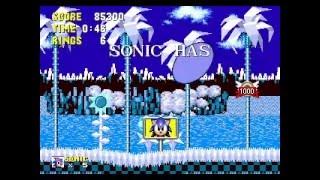 Download soniNeko (Sonic 1 hack): new songs, new monitors, new level Video