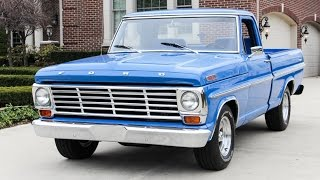 Download 1967 Ford Ranger F100 Pickup Truck For Sale Video