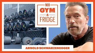 Download Arnold Schwarzenegger Shows His Gym & Fridge | Gym & Fridge | Men's Health Video