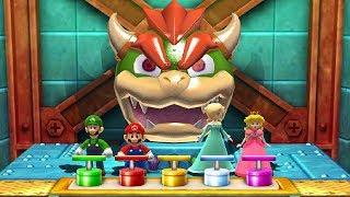 Download Mario Party The Top 100 MiniGames - Luigi Vs Mario Vs Peach Vs Rosalina (Master Difficulty) Video