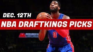 Download 12/12/17 NBA DraftKings Picks - Top 5 Plays Video