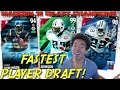Download FASTEST PLAYER DRAFT! Madden 16 Draft Champions! Video