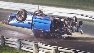 Download Drag Race gone WRONG - Rollover WRECK! Video