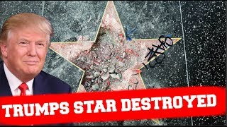 Download Donald Trump's Hollywood STAR DESTROYED ! - America Cries Video