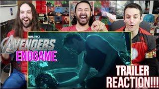 Download Marvel Studios' AVENGERS: ENDGAME - Official TRAILER REACTION!!! Video