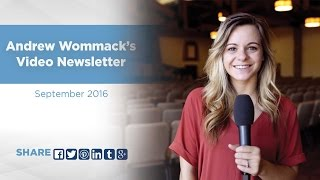 Download Video Newsletter Highlights - September 2016 #6 - Andrew Wommack Video Newsletter Video