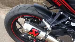 Download Yamaha R25 With Akrapovic GP M1 full system Video