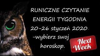 Download Runiczne czytanie energii tygodnia od 20 do 26 stycznia 2020r. Video