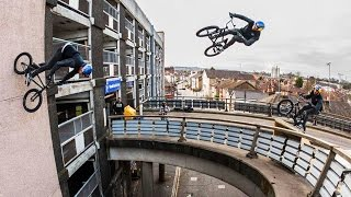 Download Sebastian Keep Redefines BMX with MASSIVE Bridge Gaps-To-Wallrides | Walls Video