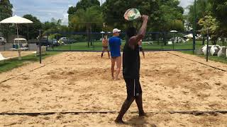 Download Treino de beach tennis em janeiro de 2018 Video