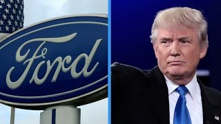 Download Trump tweets misleading words about Ford plant Video