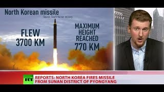Download North Korea fires missile through Japan's airspace Video