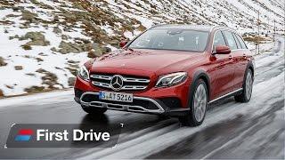 Download 2017 Mercedes E-Class All-Terrain first drive review Video