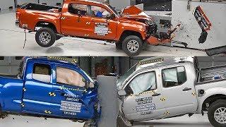 Download Crash Test 2017 Pickup Trucks – Colorado, Tacoma, Frontier Video