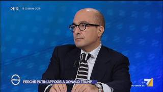 Download Omnibus - Perché Putin appoggia Donald Trump (Puntata 15/10/2016) Video