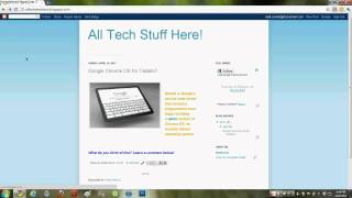 Download Google Chrome OS for Tablets? Video