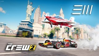 Download The Crew 2 - F1 Car vs Plane | Fastest from Los Angeles to Las Vegas Wins! Video