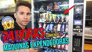 Download 24 HORAS COMIENDO EN MAQUINAS EXPENDEDORAS - I Only Ate VENDING MACHINE FOODS for 24 hours Challenge Video