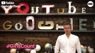 Download #GirlsCount | Robert Kyncl, Chief Business Officer, YouTube Video