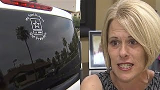 Download This Military Mother Put A Sign On Her Van Then A Stranger Left A Staggering Note About Her Sons Video