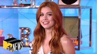 Download Katherine McNamara Sees How Well She Knows Her 'Shadowhunters' Co-Stars | TRL Video
