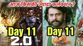 Download 2.0 11th Day Vs Baahubali 2 11th Day Box Office Collection | Who Wins At Box Office? Video