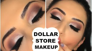 Download Dollar Store Makeup Challenge | Full Face | Video