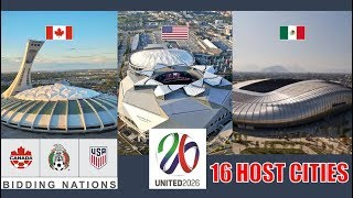 Download UNITED 2026 World Cup | Stadiums and 16 Host Cities Video