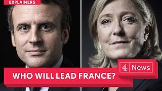 Download French election explained: Emmanuel Macron and Marine Le Pen go head to head Video