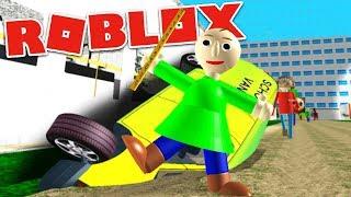 Download PLAY AS ″PLAYTIME BALDI″ AND STEAL A SCHOOL VAN?! | Baldi's Basics RP Roblox Video