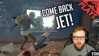 Download COME BACK JET - PlayerUnknown's Battlegrounds Gameplay #126 (PUBG First Person 8-man Custom Squads) Video