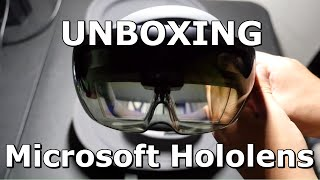 Download UNBOXING THE MICROSOFT HOLOLENS AND SETUP Video