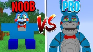 Download Minecraft NOOB vs. PRO: FNAF FIVE NIGHTS AT FREDDY'S 2 in Minecraft! Video