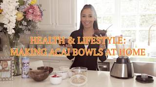 Download HEALTH & LIFESTYLE: MAKING ACAI BOWLS AT HOME Video