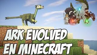 Download ARK EVOLVED EN MINECRAFT!!! - ARKCRAFT MOD Video