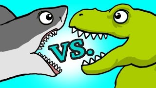 Download ″My Cute Shark Attack Cartoon #45 (Team SHARK vs. ROBOT DINO +BEST OF!!) kids cartoon! Video