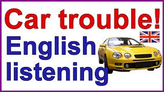 Download ENGLISH LISTENING EXERCISE - Car trouble! Video