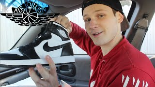 Download HUNGOVER AND CAMPING FOR AIR JORDAN 1 OG (BLACK/WHITE) closer look Video