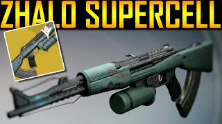 Download Destiny - ZHALO SUPERCELL! EXOTIC AUTO RIFLE! Video
