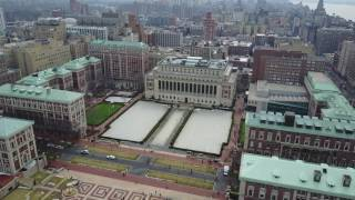 Download Columbia University Fly By | 4K Video